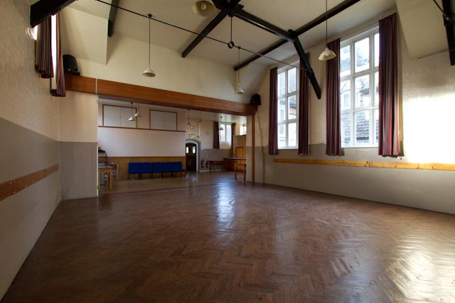 Parish Hall – inside