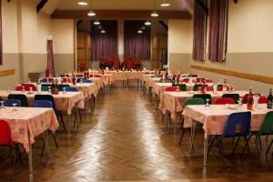 Parish Hall - inside